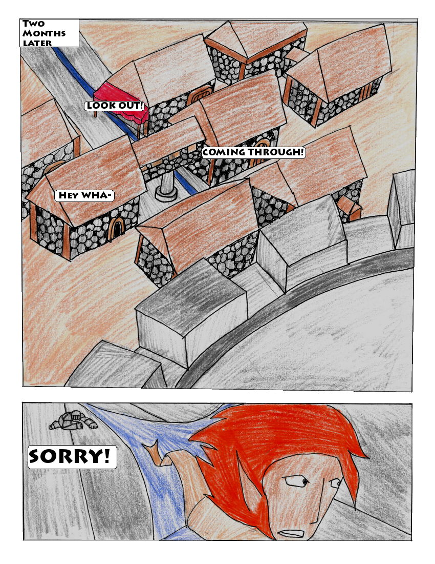 Act 1 Chapter 1 - Page 1